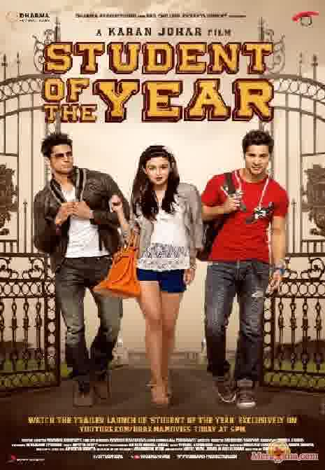 Poster of Student Of The Year (2012) - (Hindi Film)